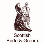Bride And Groom Scottish