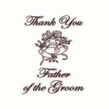 Thank You Father Of The Groom
